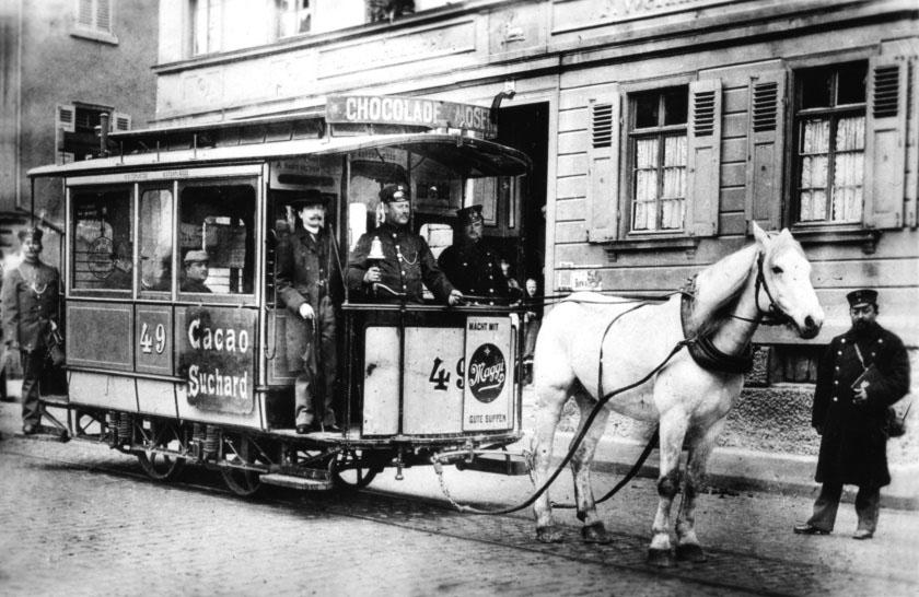 Heslach (Pferdebahn) vor 1900