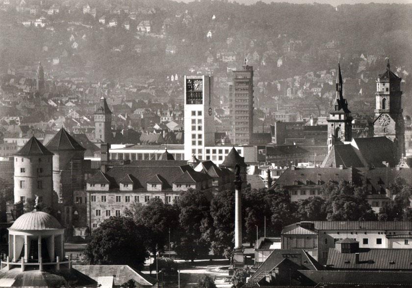 Innenstadt um 1960