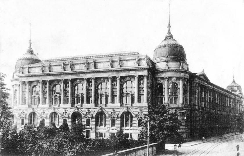 Haus der Wirtschaft um 1900