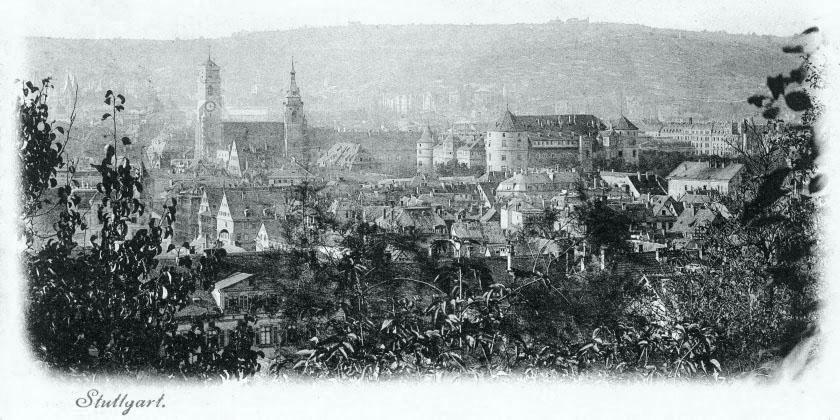 Panorama vor 1905