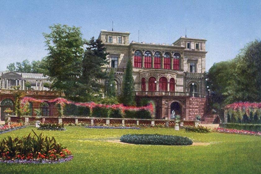 Villa Berg um 1930 75 x 50  cm