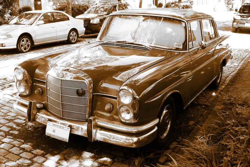 Mercedes-Benz W110 (Heckflosse) USA-Ausführung