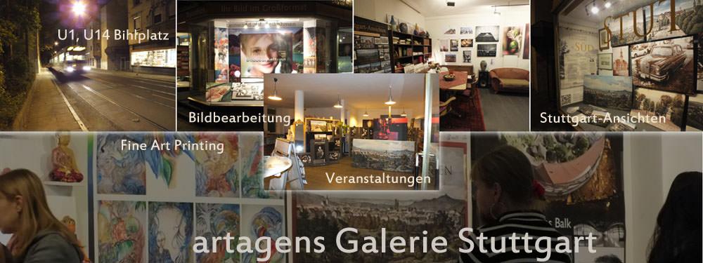 artagens Galerie Stuttgart Front